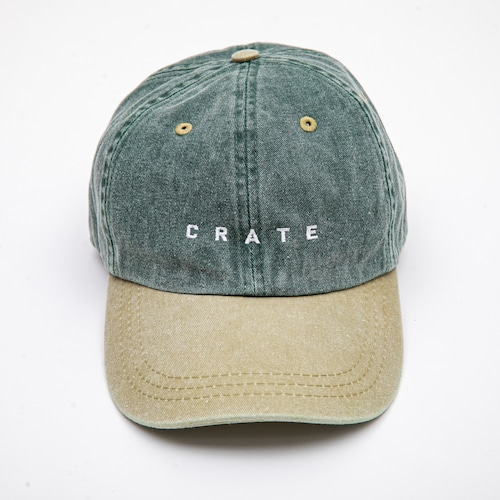 WEATHERED CAP GREEN