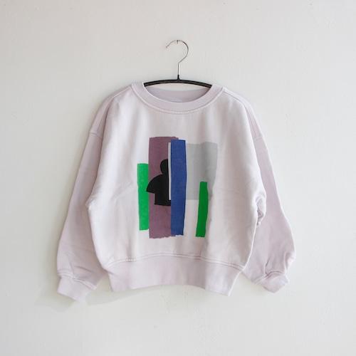 《main story 2021AW》Oversized Sweatshirt / Misty Lilac