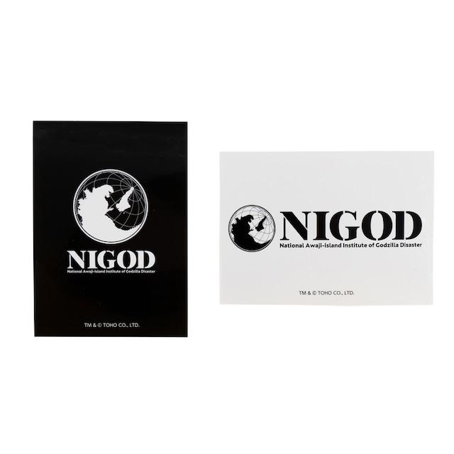 ゴジラ ステッカー(NIGOD)