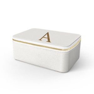 Box Premium Smooth Leather Case (Cotton White)