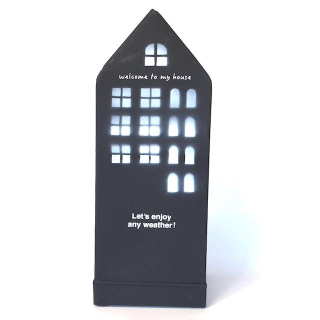 アンブレラスタンド ハウス AZ-1752 傘立て ブラック ナチュラル シンプル おしゃれ インテリア
