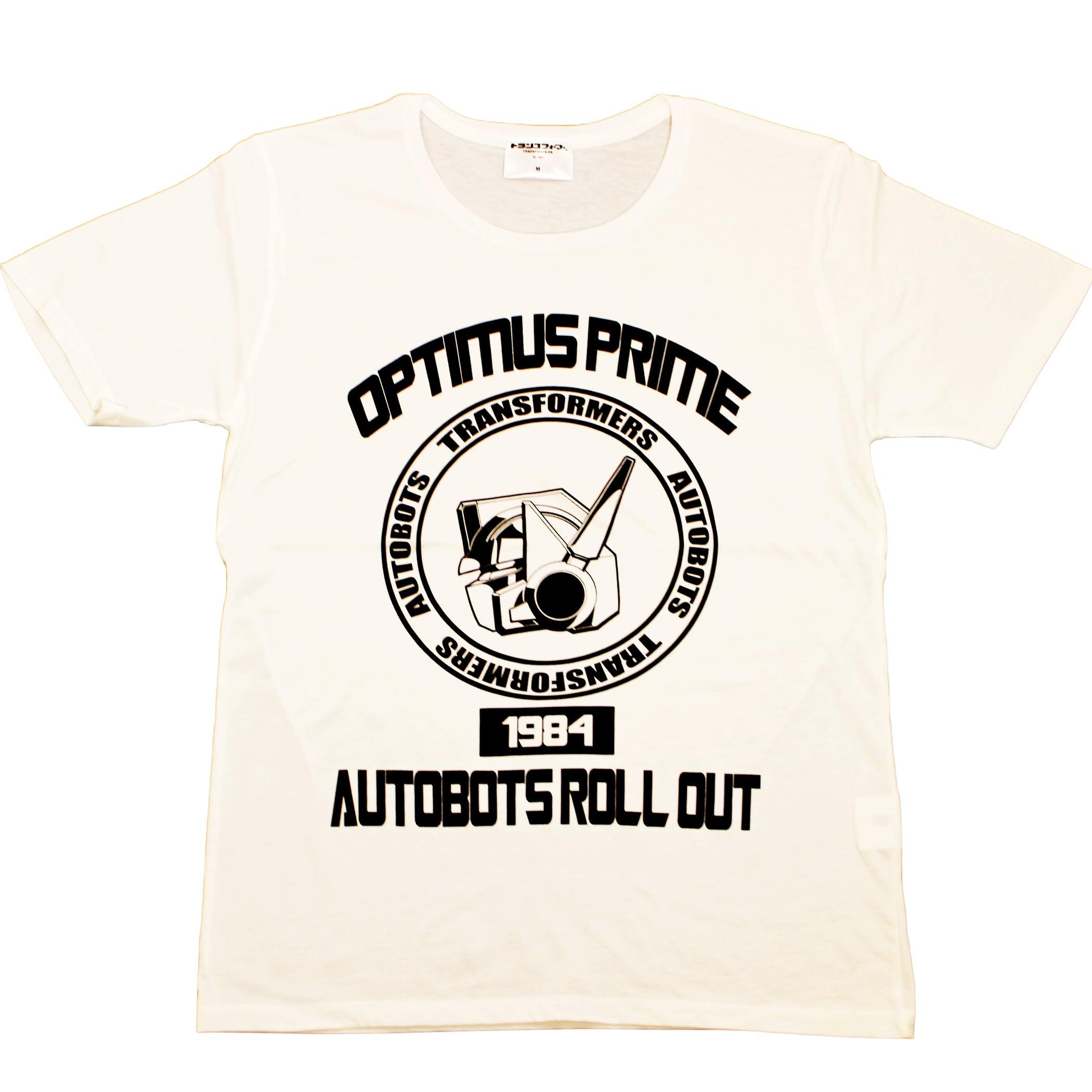 【トランスフォーマー】戦え!超ロボット生命体トランスフォーマー コンボイカレッジデザイン Tシャツ