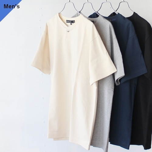 Upscape Audience コンチョボタンヘンリーTee AUD6216 4カラー