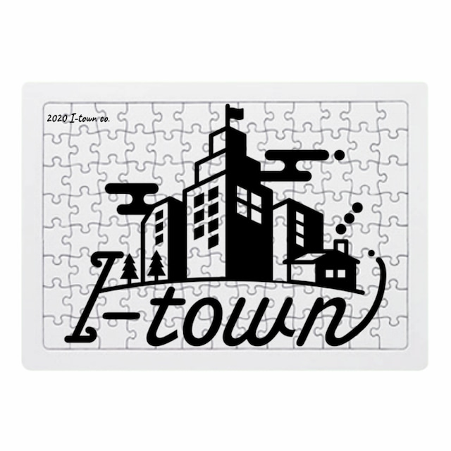 I-town ロゴ ジグソーパズル(小)104ピース 29.5×21.0(cm) #Stay home
