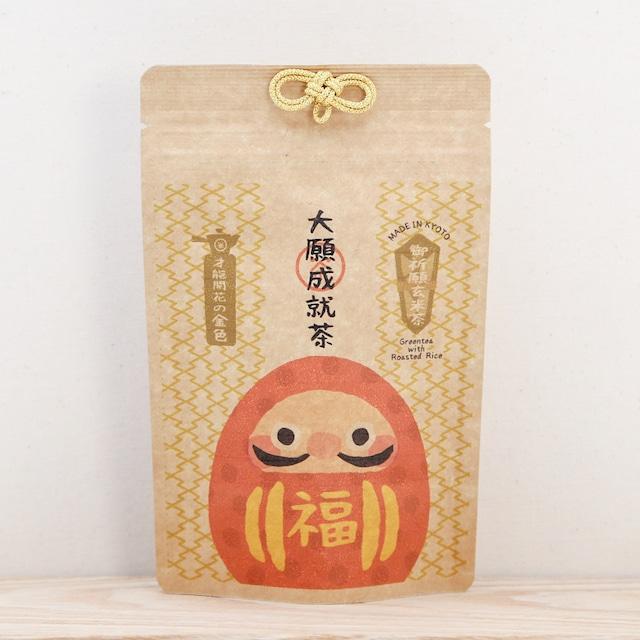 御祈願玄米茶|大願成就茶(抹茶入煎茶玄米茶ティーバッグ8包入り)