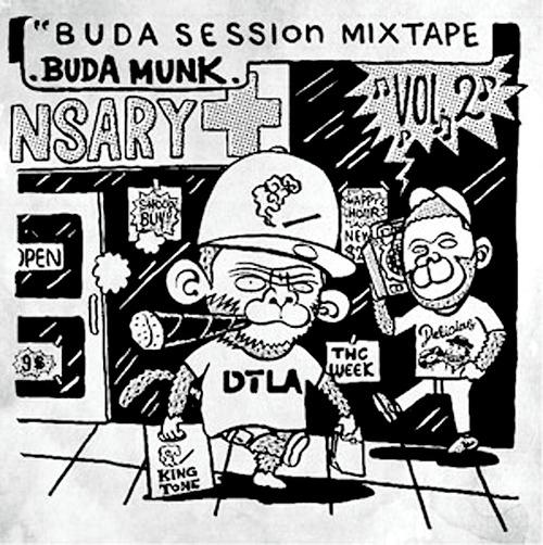 【CD】Budamunk - Buda Session Mixtape Vol. 2