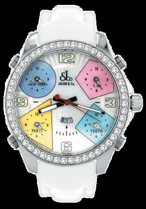 【JACOB&CO.】JC-24D/ジェイコブ ファイブタイムゾーン 47mm/国内正規品 腕時計