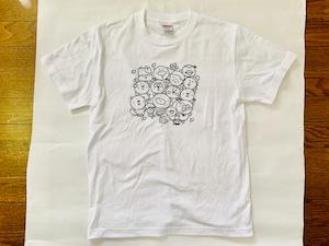 いいカモ町内会Tシャツ*ホワイト