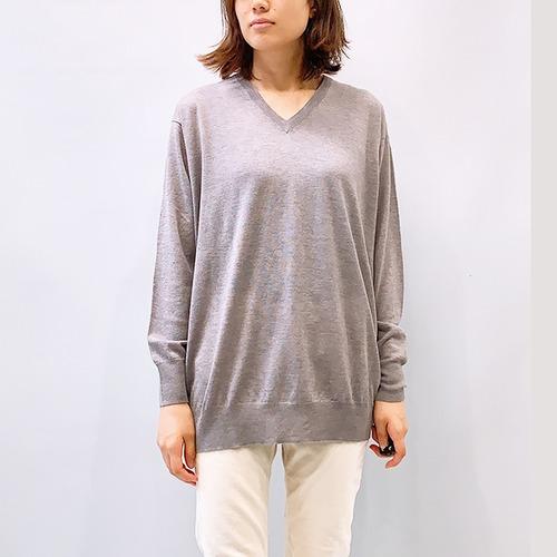 DOUBLE STANDARD CLOTHING(ダブルスタンダードクロージング) Sov. / Vネックニット 2021秋冬物新作 [送料無料]