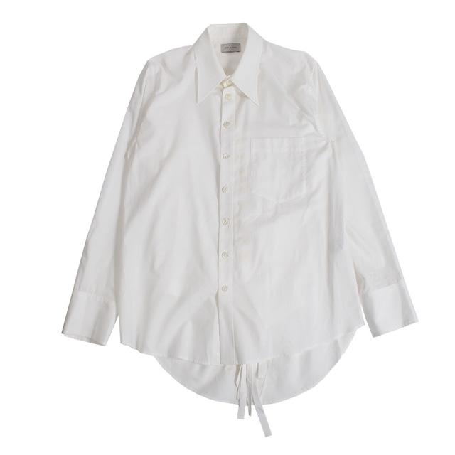 BED J.W. FORD Inner vest blouse White