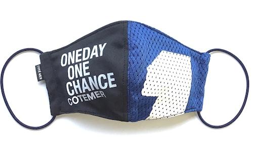 【デザイナーズマスク 吸水速乾COOLMAX使用 日本製】 ONEDAY  SPORTS MIX MASK CTMR 1020012
