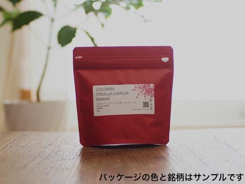 コロンビア・ゲイシャ・浅煎り(180g)