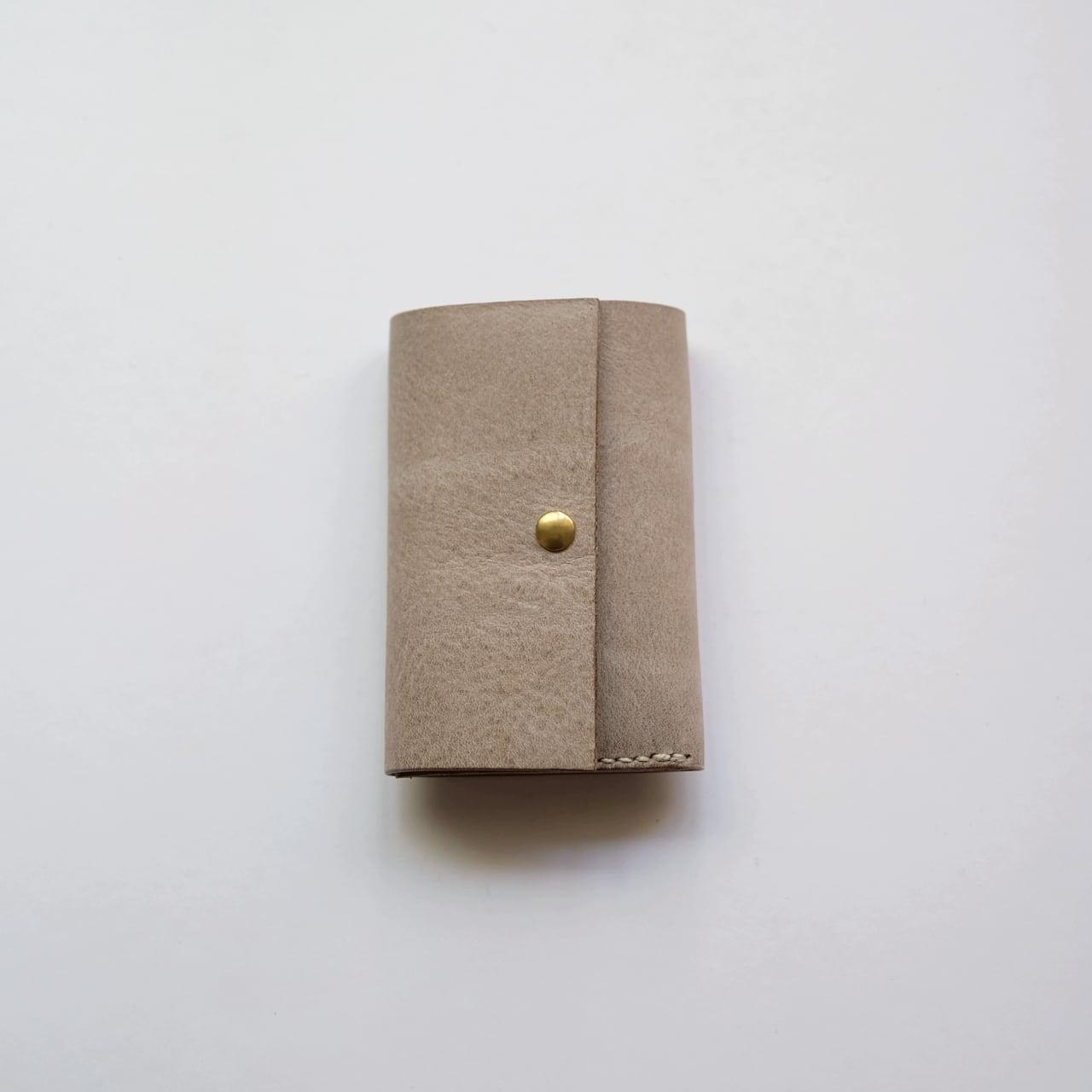 money clip - white beige - ALASKA
