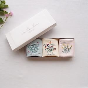 3つの小さな庭 BOXセット | Sunny Thread 刺繍キット