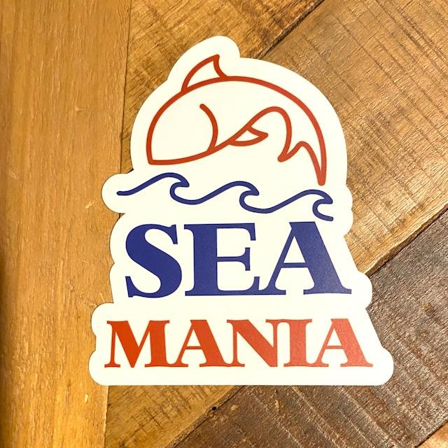 【Seamania】フィッシュモチーフステッカー