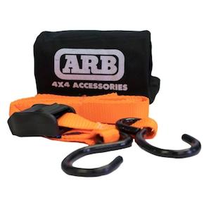 ARB タイダウンベルト カムバックル式 25mmX3.0m 2個セット 収納袋付 CT02A
