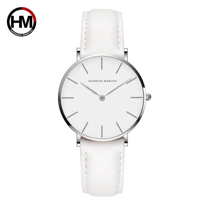 ジャパンクォーツムーブメントアナログファッションカジュアルウォッチナイロンストラップ腕時計ブランド女性用防水腕時計CB36-YB