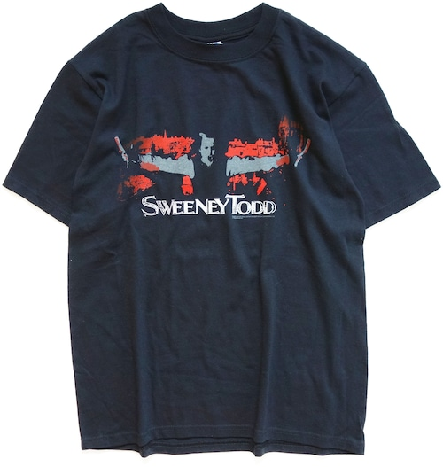 00年代 スウィーニー・トッド 映画 Tシャツ 【M】   SWEENEY TODD ティム・バートン ホラー ヴィンテージ 古着