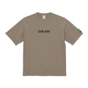 DUB RIM REBOUND マグナムウェイト ビッグシルエット Tシャツ/アシッドカーキ