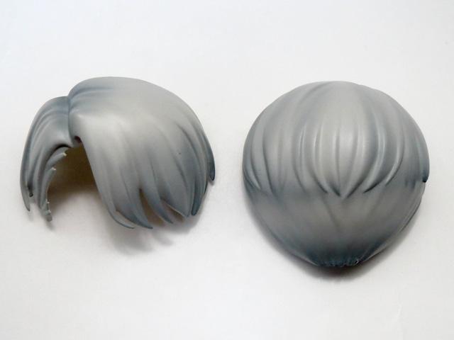 【741】 ヴィクトル・ニキフォロフ 髪パーツ ショート ねんどろいど