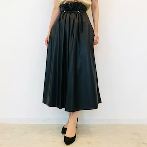 DOUBLE STANDARD CLOTHING (ダブルスタンダードクロージング ) フェイクレザースカート 0502000213