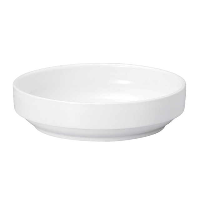 17cm すくいやすい食器  白無地 強化磁器【1715-0000】