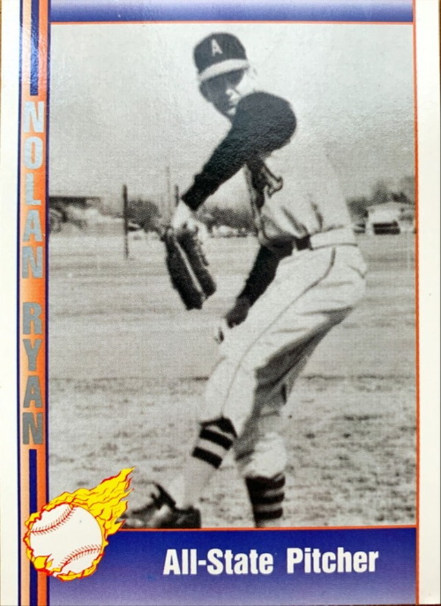 MLBカード 92PACIFICTRADING Nolan Ryan  #113 All State Pitcher