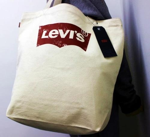 LEVI'S リーバイス 男女兼用 ユニセックス ビッグロゴ トートバッグ 38010-0056