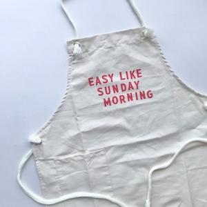 EASY LIKE SUNDAY Apron Adult