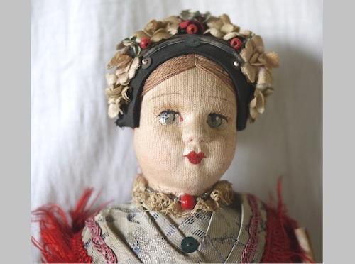 ハンガリー 民族人形 クロスドール 東欧 マチョー