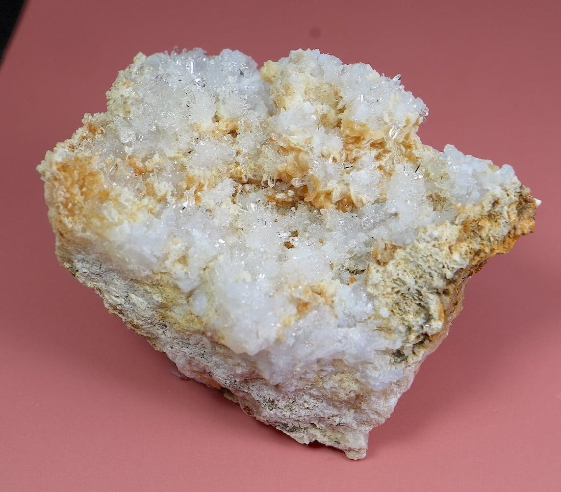 クォーツ結晶 + カルサイト  ネバダ産 65g QZ058 原石 天然石 鉱物 パワーストーン