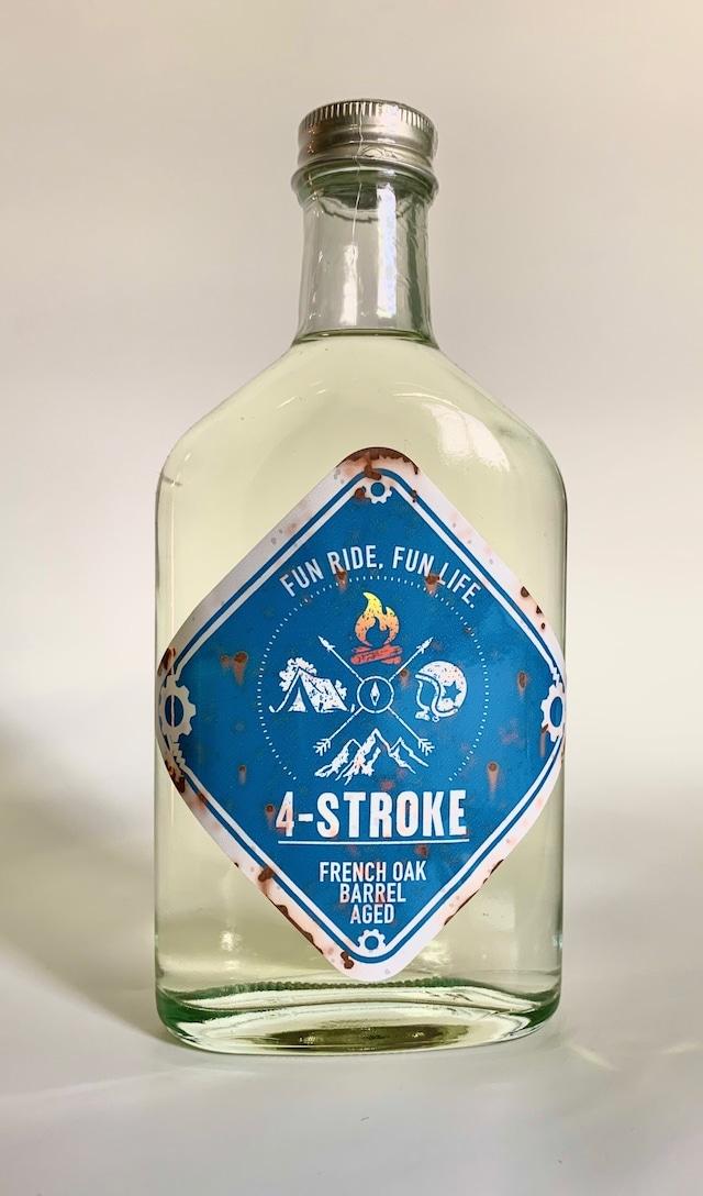 粕取り焼酎 4 STROKE BLUE ブランデー樽貯蔵