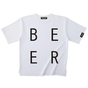 BEER 改行ロゴT
