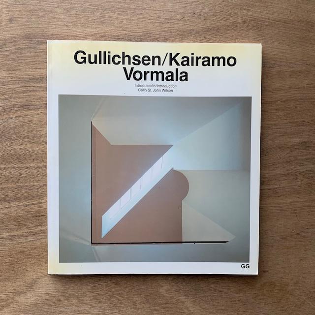 Gullichsen-Kairamo-Vormala  /  Current Architecture Catalogues