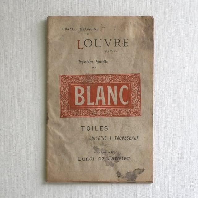 パリの百貨店  Grands magasins du LOUVRE カタログ・フランスアンティーク / vp0032