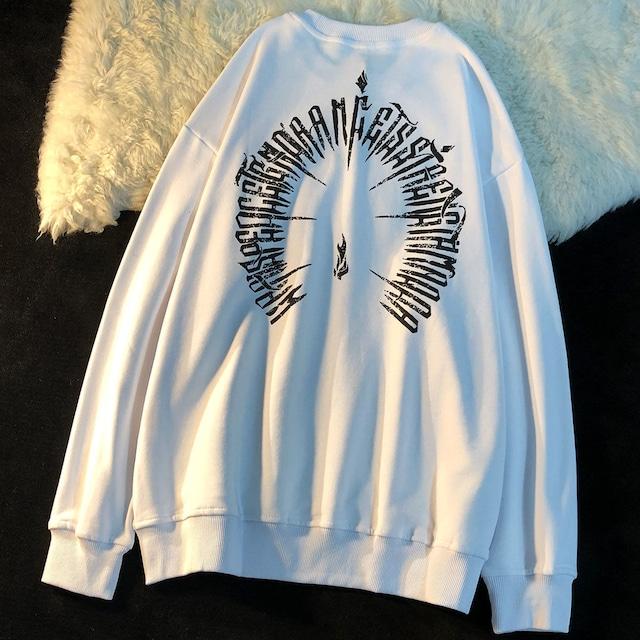 【トップス】ファッションプリントストリート個性派長袖Tシャツ53530862