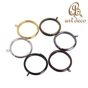 アクセサリー パーツ 指輪 リング 2個 カン付き 直径19mm 内径16mm [ri-25130] 粘土 樹脂 土台 ハンドメイド オリジナル 材料 金具 装飾 カラワク 空枠
