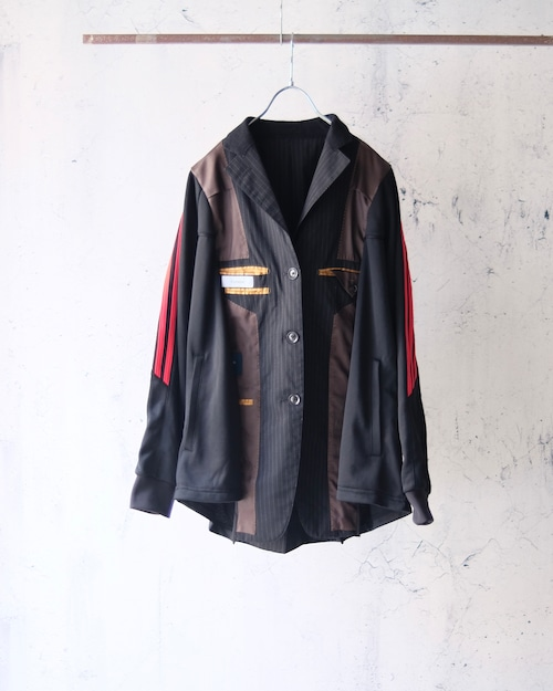 ◾︎Enshelte×The words remake switching jacket (reverse×black jersey)