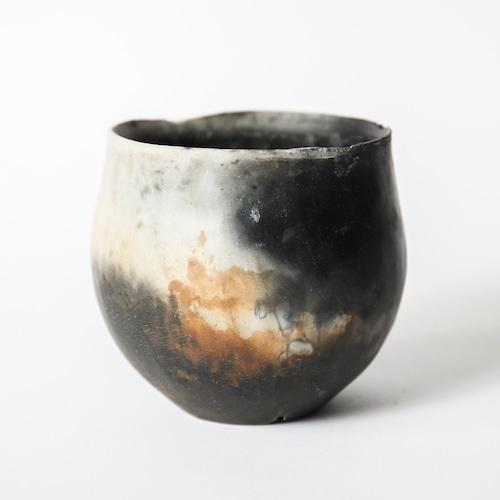 炭化焼締鉢 ※medium