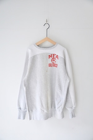 【MADE by sunny side up】REMAKE BACKSIDE CREW SWEAT