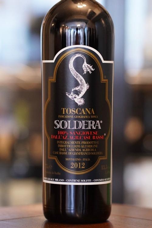 Toscana Soldera 2012 / Case Basse( トスカーナ ソルデーラ / カーゼ バッセ )
