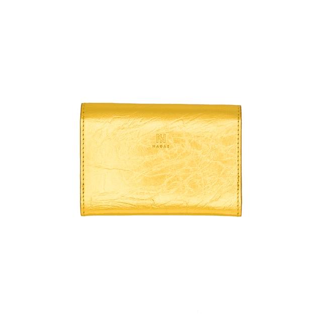 《名刺入れ》TIN BREATH Business card case double Gold