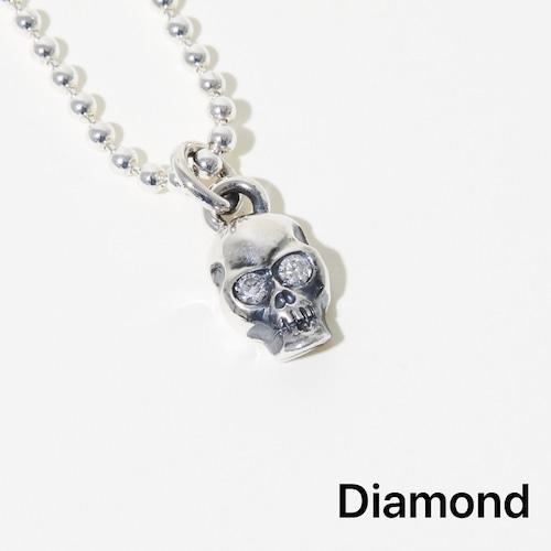 "【Diamond】Skull Necklace ""K 2020"" by Kotaro Furuichi"