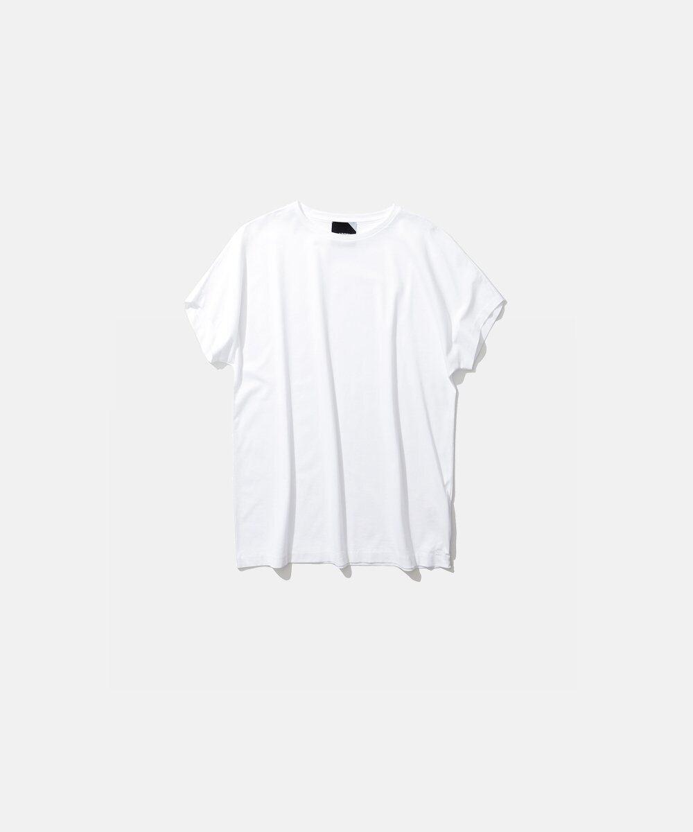 【ATON】キャップスリーブTシャツ KKAGIM0017