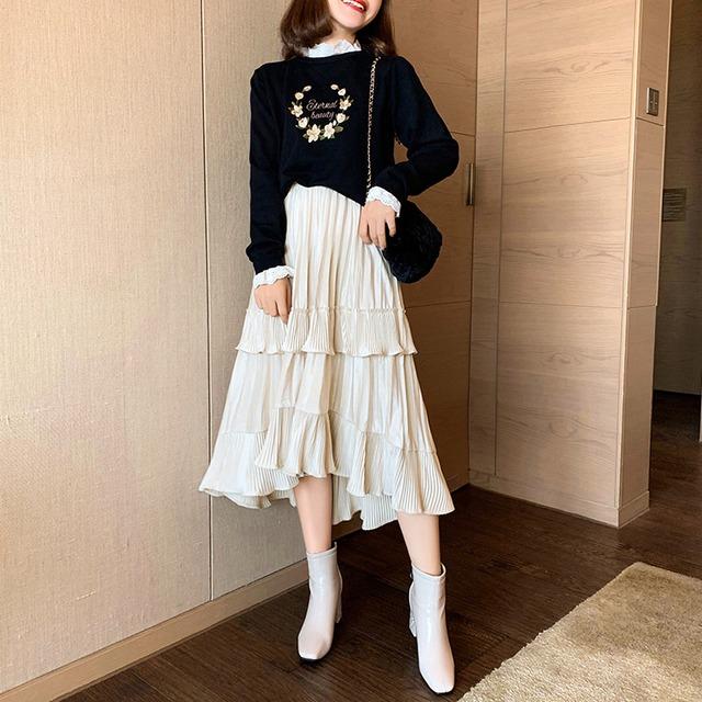 【yurinaさんYouTube着用】ティアードスカート