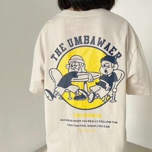 アメリカンキャラクタープリントTシャツ YH0936