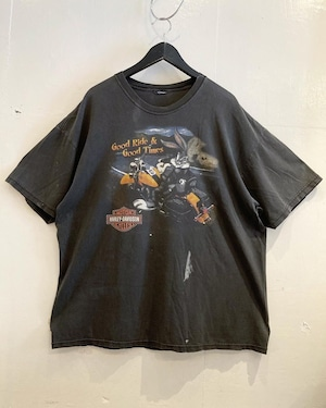 HARLEY DAVIDSON LOONEY TUNES プリントTシャツ
