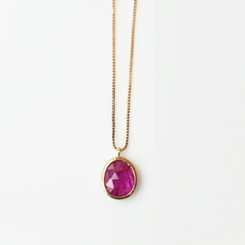 Ruby Necklace(CN002-RU)