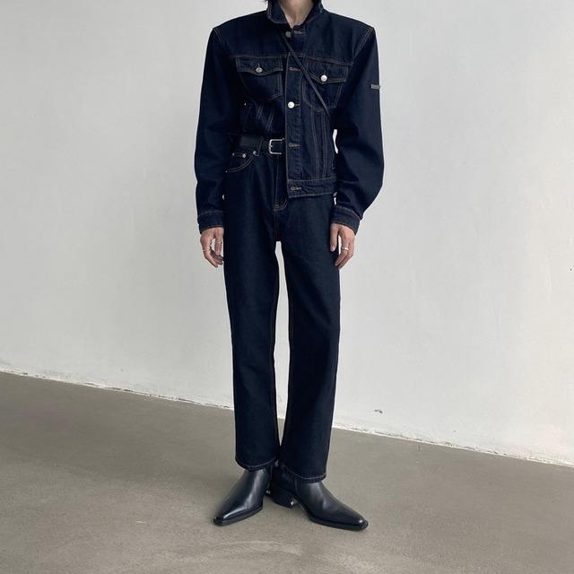 Straight regular setup jeans   b-471