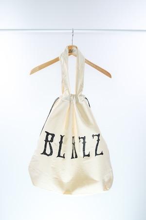 Euro Blazz Drawstring BIG TOTE BAG [Natural]
